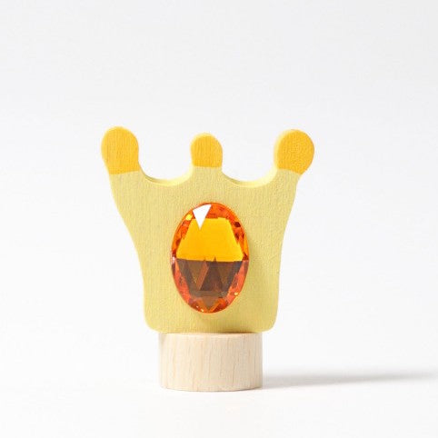 Grimm's wooden crown decoration