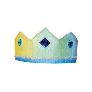 Sarah's Silks silk crown - rainbow sky