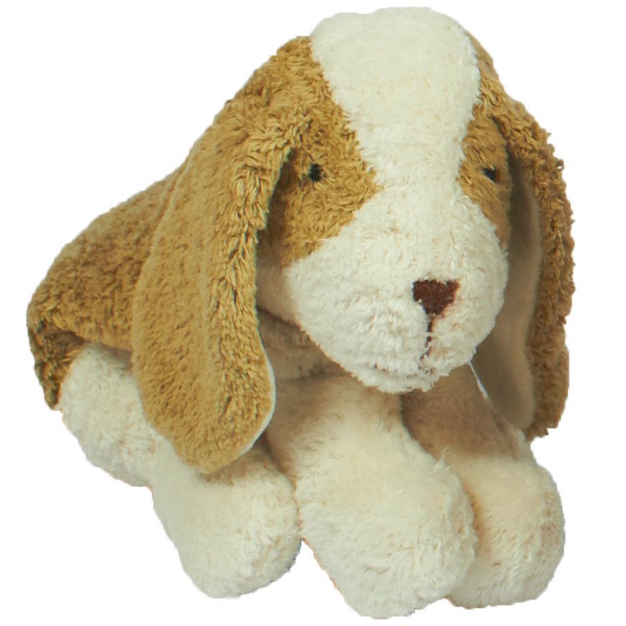 Senger organic cotton cuddly stuffed animal - small dog