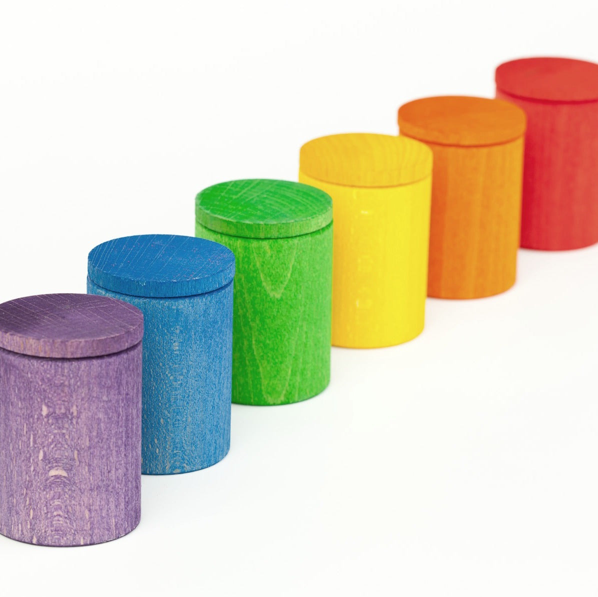 Grapat 6 Coloured Cups with Lid