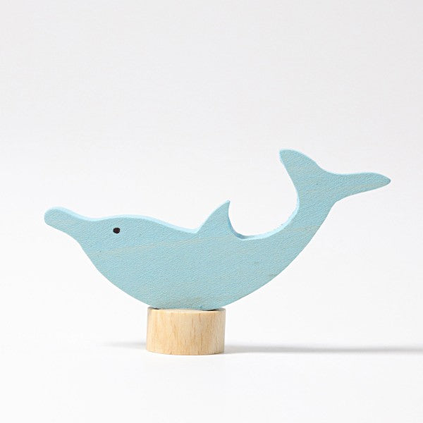 Grimm's wooden dolphin decoration