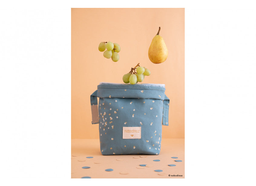 Eco Lunch Bag - Confetti/Magic Green