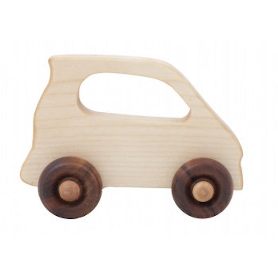 Wooden Story Wooden Electric Car