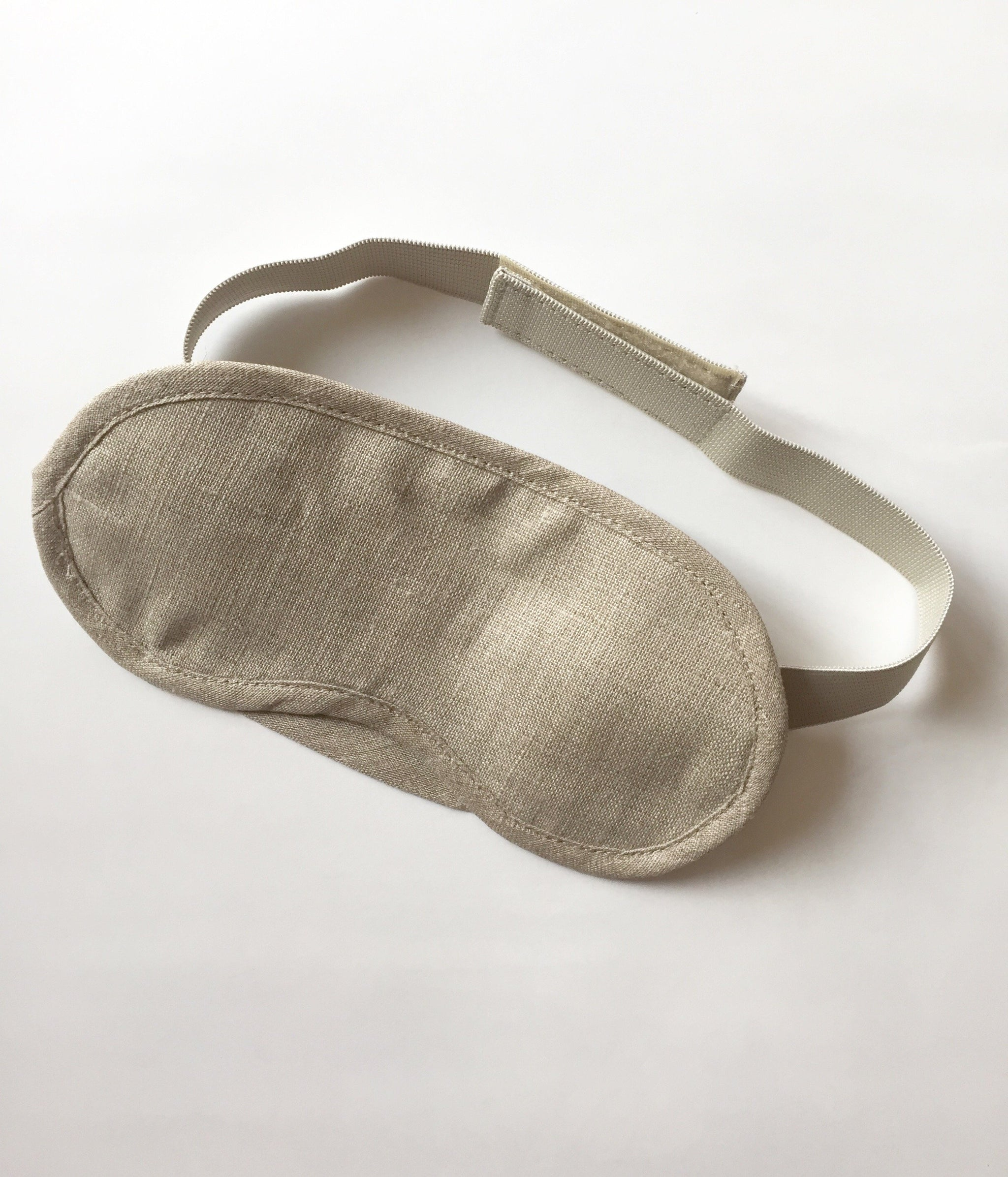 Sleeping Mask by Fog Linen Work in natural linen