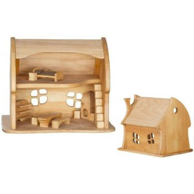 Verneuer Wooden Doll House - Fairy Tale Cottage