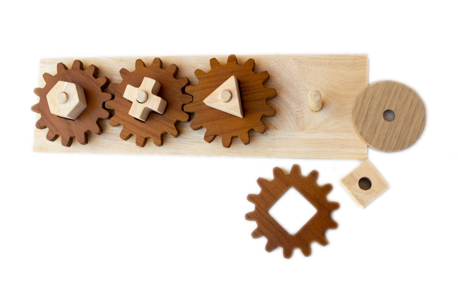Qtoys Gear Puzzle Play Set