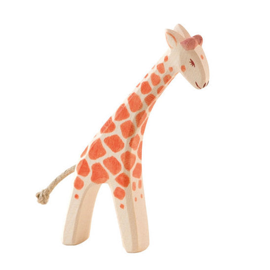 Ostheimer wooden small giraffe baby with head low