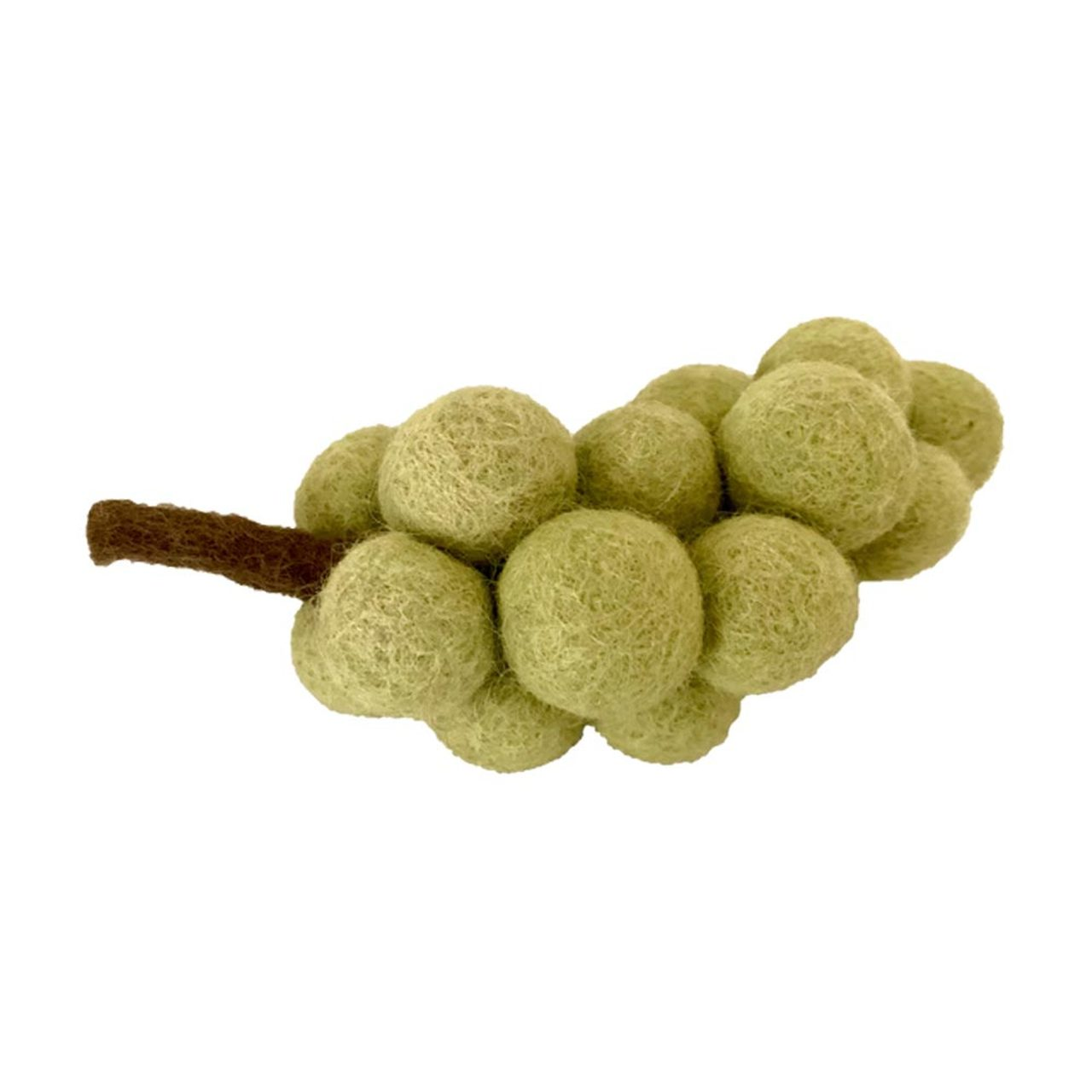 Papoose felt food - green grapes