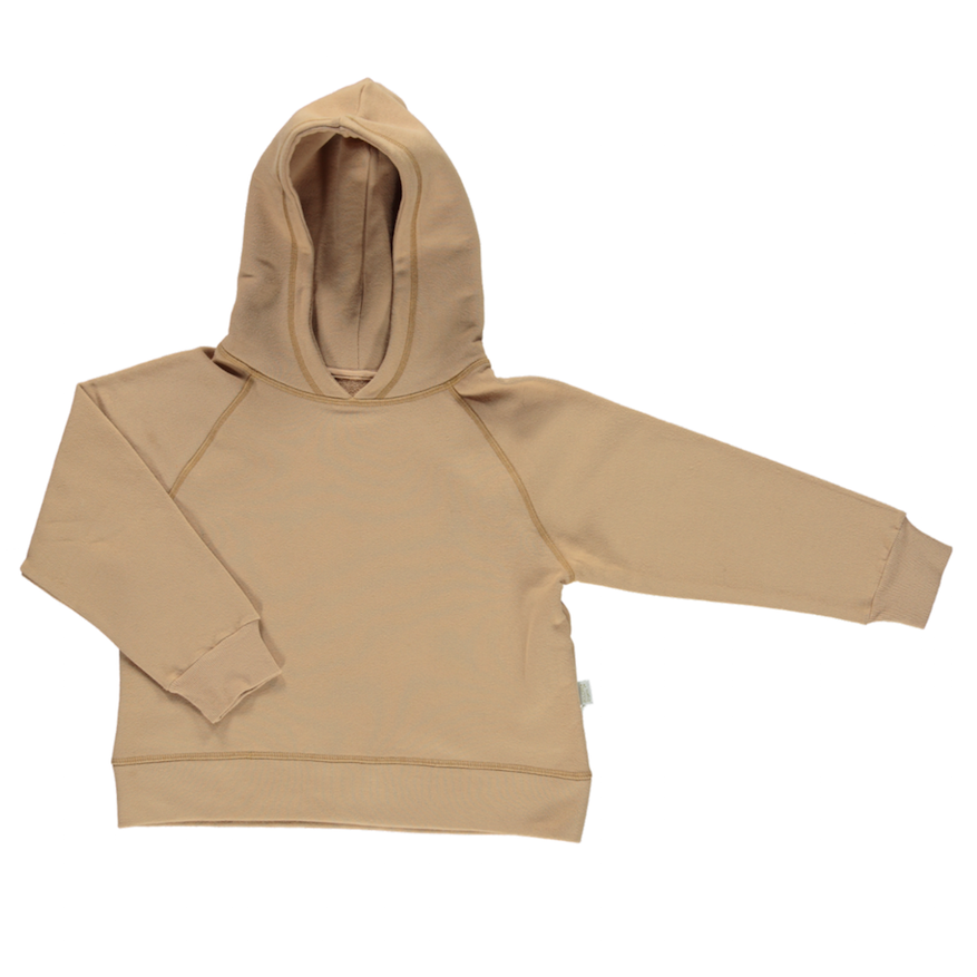 Poudre Organic Cotton Hooded Jumper Indian Tan
