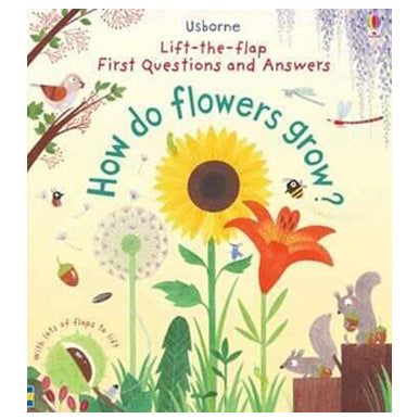 Book cover for How do flower's grow? an Usborne lift the flap book