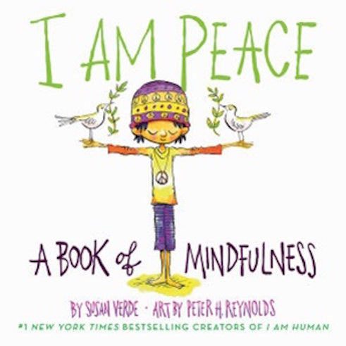 I Am Peace board book by children's book author Susan Verde