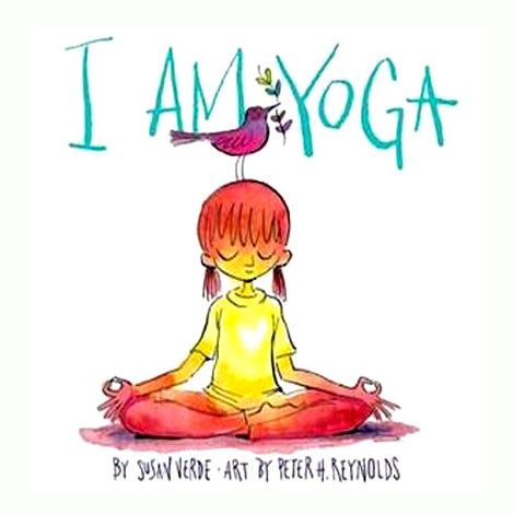 Book cover for I am Yoga book by Susan Verde