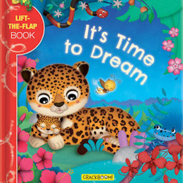 It's Time To Dream - Lift-the-flap board book
