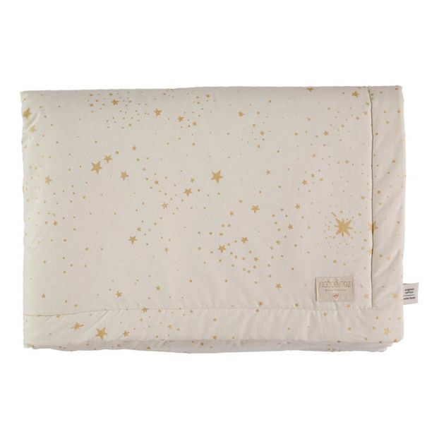Nobodinoz Laponia Blanket Gold Stella/Natural - 2 Sizes