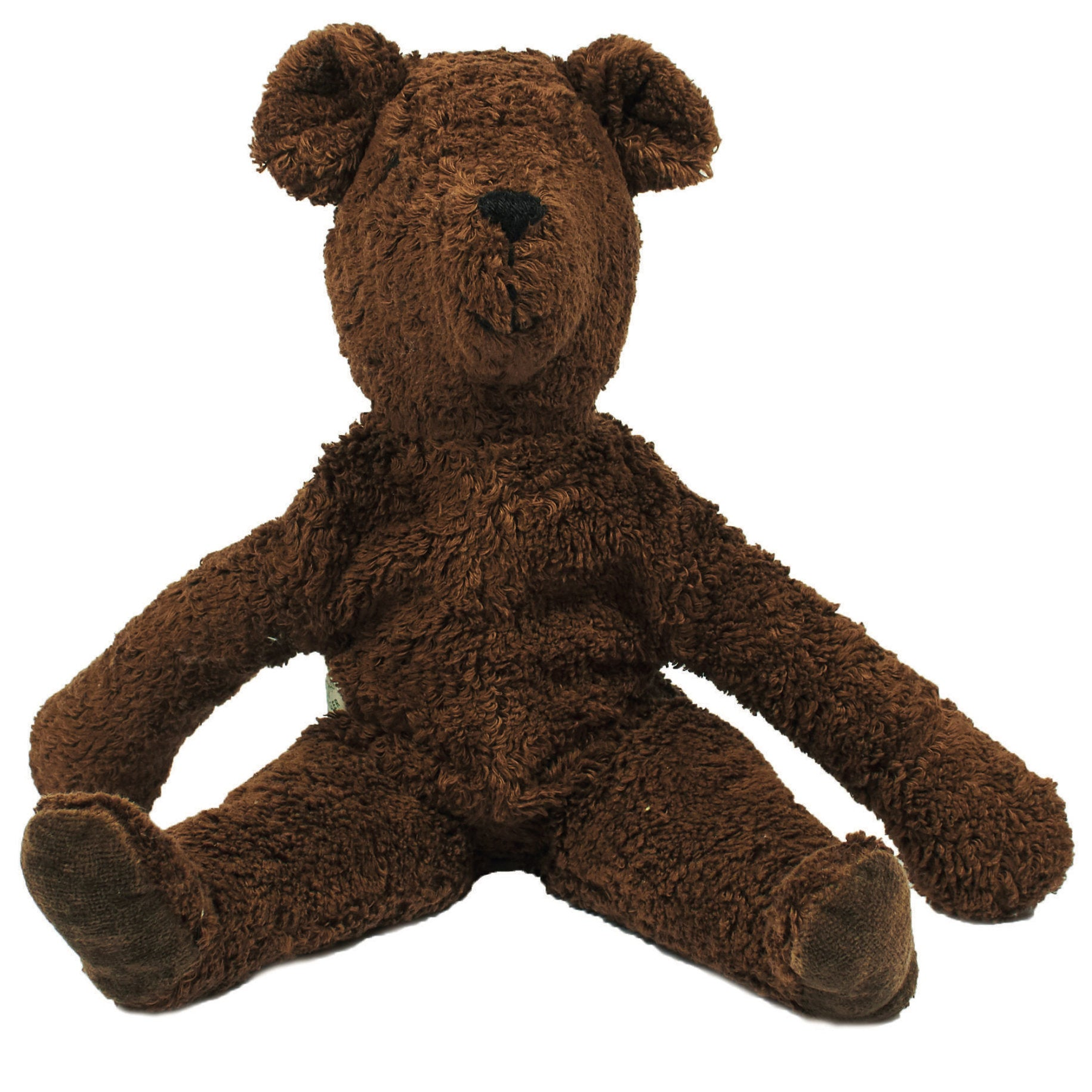 Senger Naturwelt organic cotton large bear in brown
