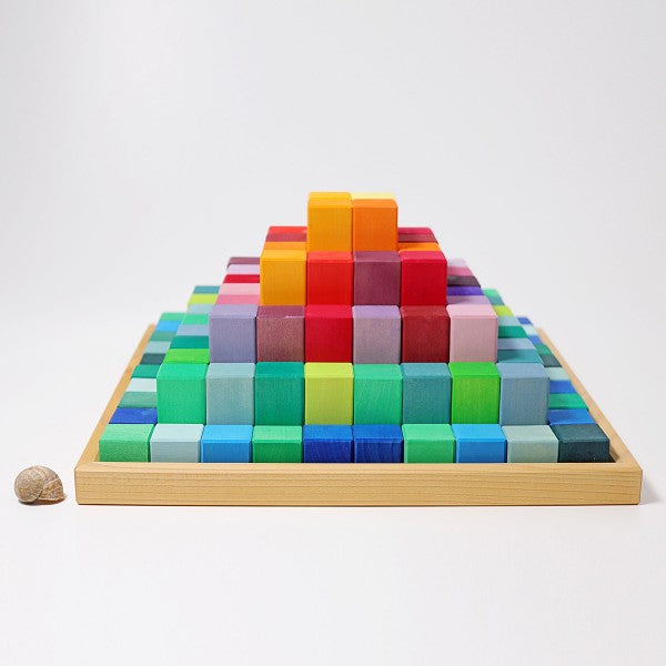 Large Stepped Pyramid Blocks
