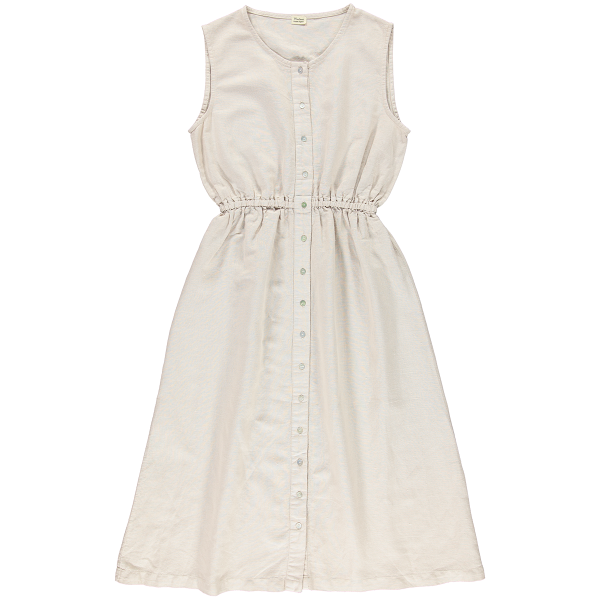 Poudre Organic women's linen and organic cotton Magnolia dress