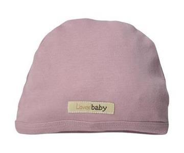 Loved Baby organic cotton cute cap - mauve