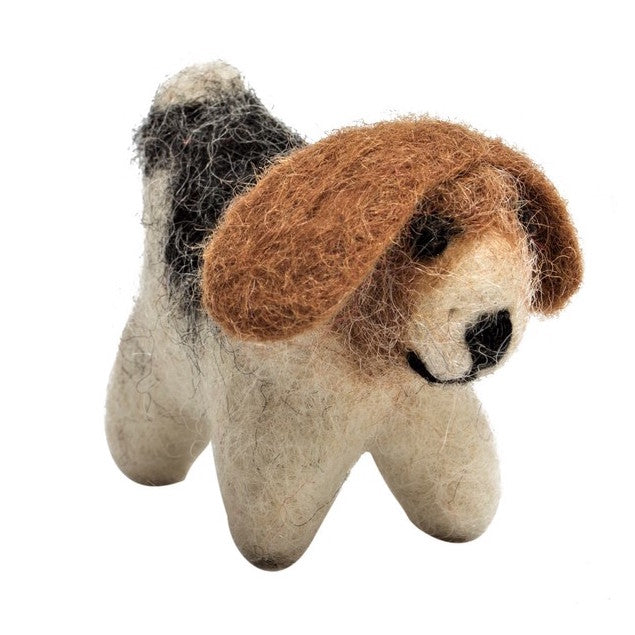 Papoose felt mini dog