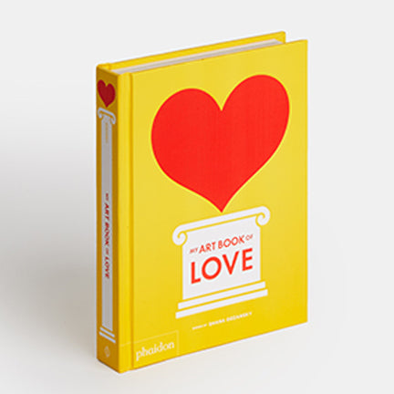 Book cover of My Art Book of Love by Shana Gozansky