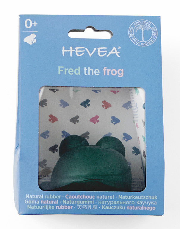 Hevea Fred the Frog rubber bath toy