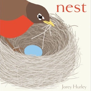 Book cover for Nest by children's author Jorey Hurley