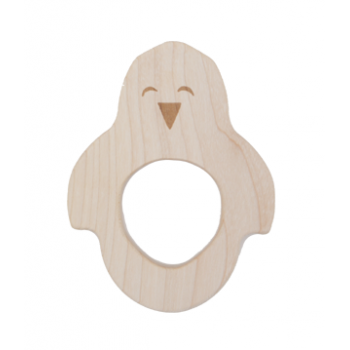 Wooden Story Penguin Teether