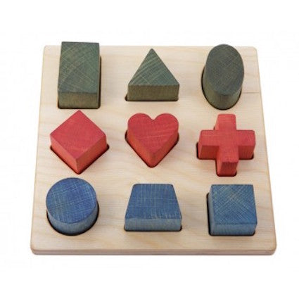 Wooden Story Rainbow Shape Puzzle