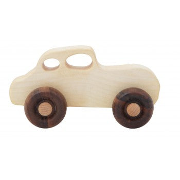 Wooden Story wooden retro toy car