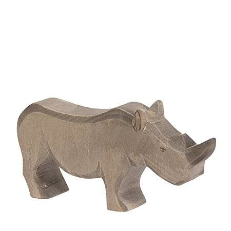 Ostheimer wooden toy animal - large adult rhino