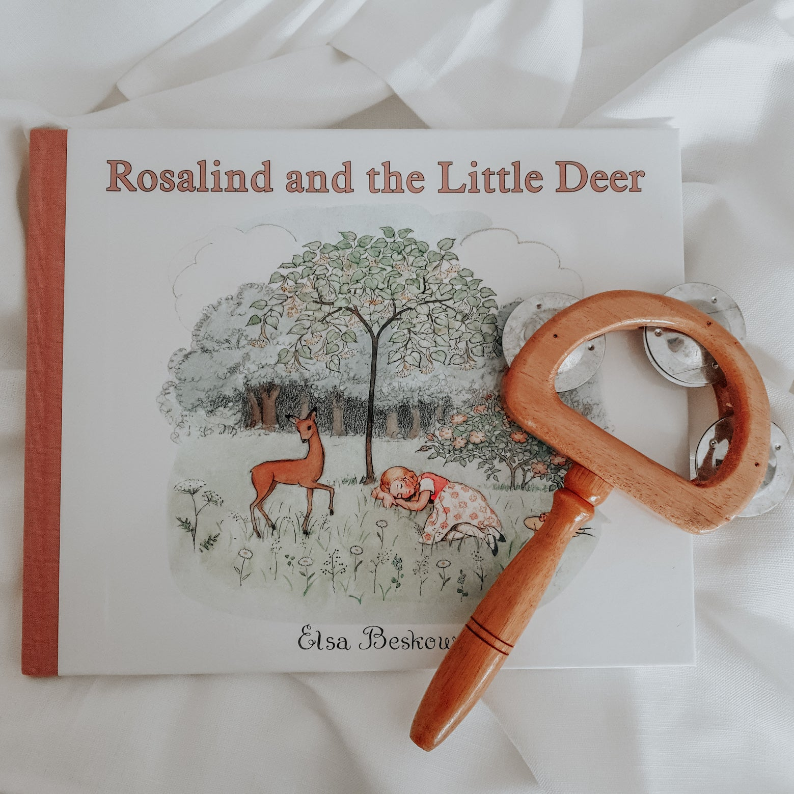 Rosalind and the Little Deer - children's book by author Elsa Beskow