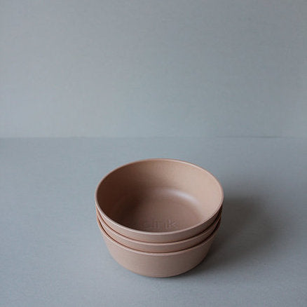 Cink Bamboo baby bowl in the colour rye, a neutral warm tone