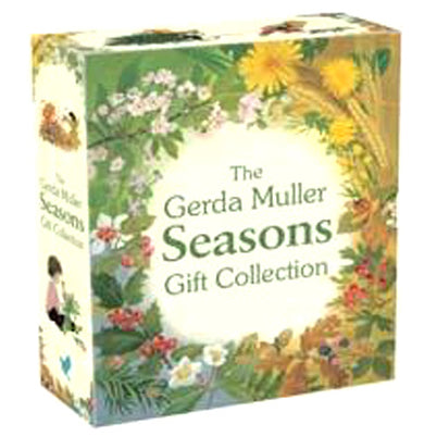 The Seasons Gift Collection - boxed book set by children's author Gerda Muller