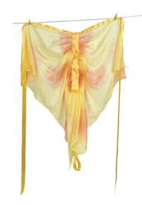 Sarah's Silks yellow butterfly wings