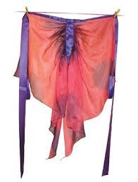 Sarah's Silks silk fairy wings pink