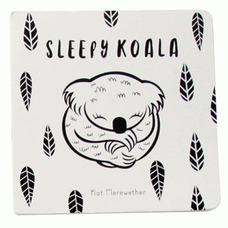 Cover of Sleepy Koala board book by Kat Merewether