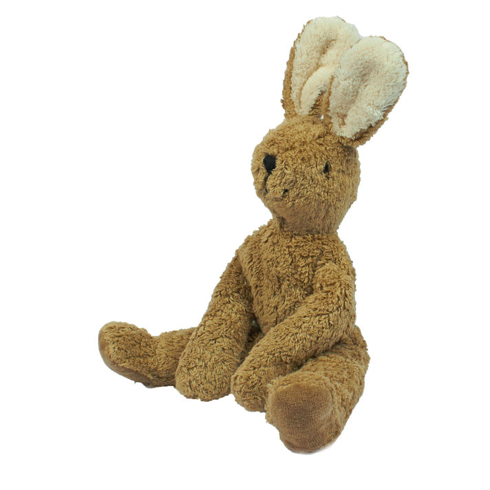 Senger organic cotton stuffed toy rabbit in beige