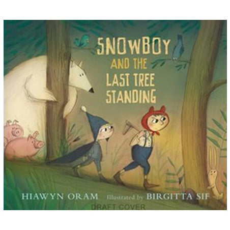 Book cover for Snowboy and the Last Boy Standing by children's author Hiawyn Oram