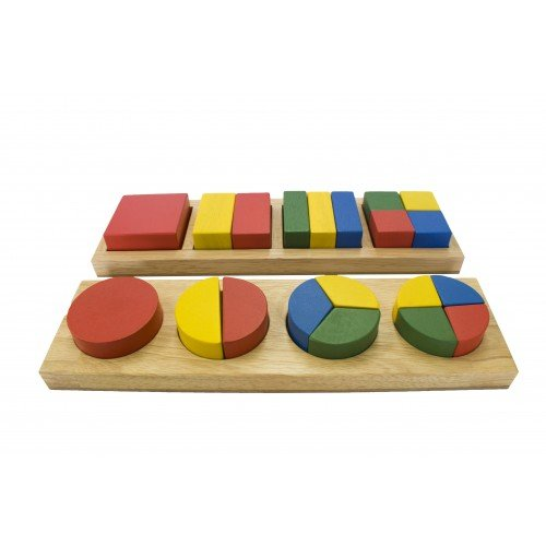 Qtoys Square/Round Fraction Bars