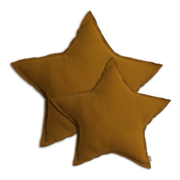 Numero 74 Star Cushion - Gold