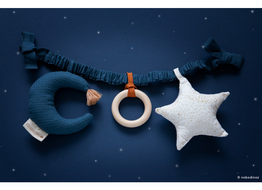 Nobodinoz Star and Moon Pram Toy