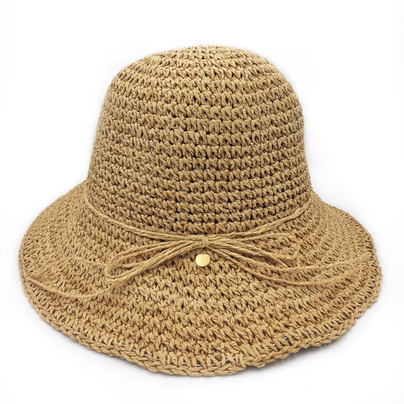 Fini The Label - paper straw hat for ladies and children