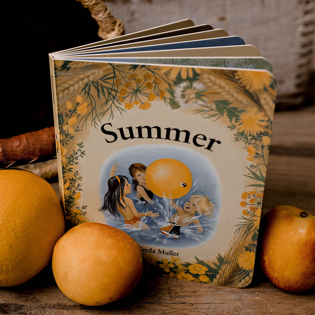 Summer - board book by children's author Gerda Muller