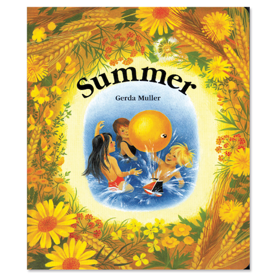 Book cover for Summer - board book by children's author Gerda Muller
