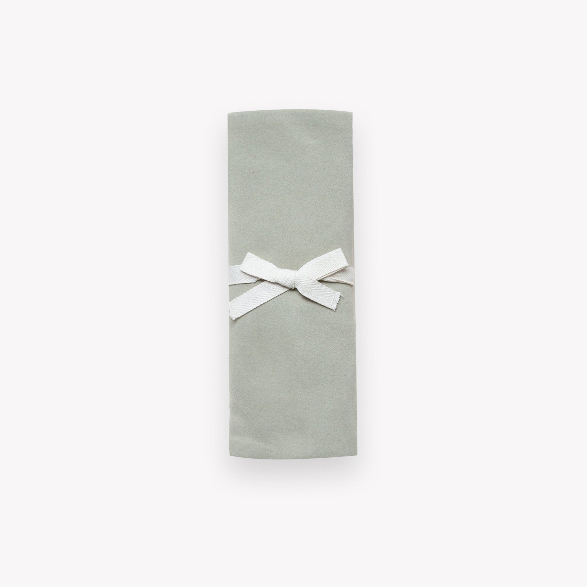Organic Cotton Swaddle Blanket - Sage