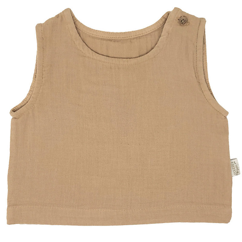 Poudre Organic Cotton Tank Indian Tan