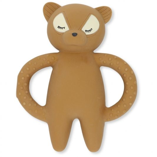 Konges Slojd rubber teether raccoon