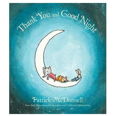 Book cover for Thank You and Good Night by children's author Patrick McDonnell