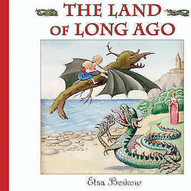 The Land of Long Ago - book by children's author Elsa Beskow