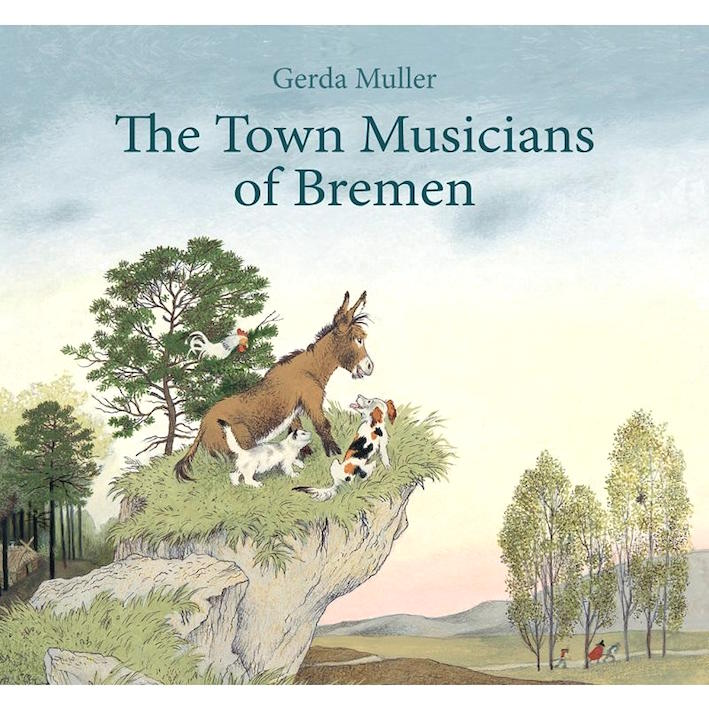 The Town Musicians of Bremen - book by children's author Gerda Muller